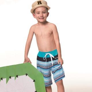 【SAIN SOU】泡湯SPA兒童海灘泳褲附泳帽(A65603)