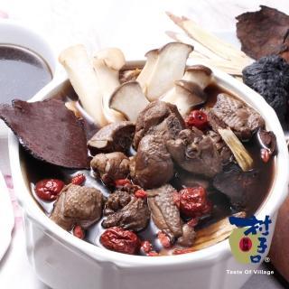 【鮮食家任選799】村子口 傳家香藥膳燉雞(1200g/包)