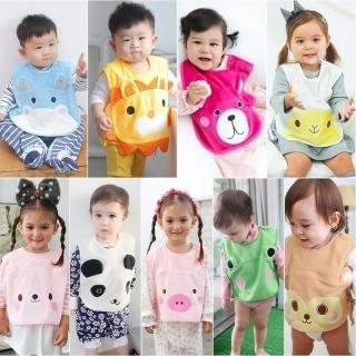 【baby童衣】水晶絨動物臉譜可愛保暖背心 60323(共6色)