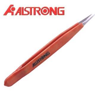 【ALSTRONG】不鏽鋼絕緣無磁尖頭鑷子 TZ-212TW