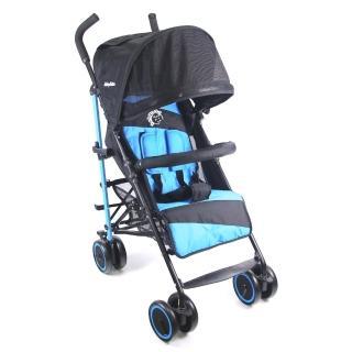 ~BabyBabe~ 全罩式加寬平躺傘車  藍