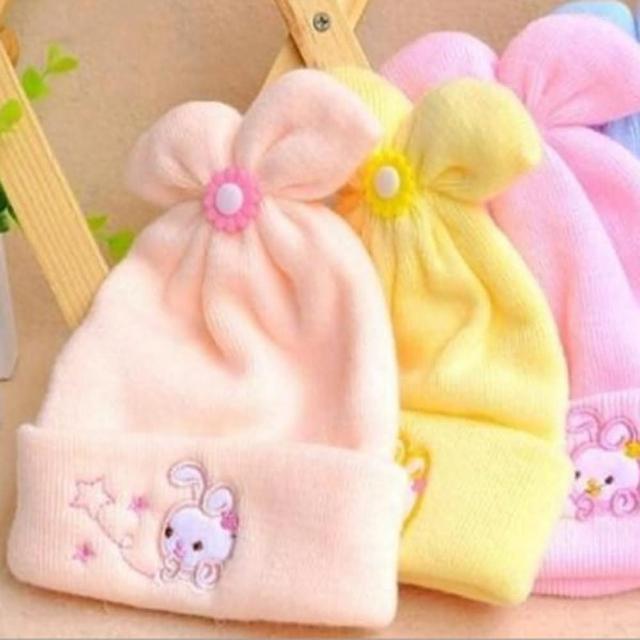 【PS Mall】特柔嬰兒寶寶兒童帽仿羊絨帽(J283)