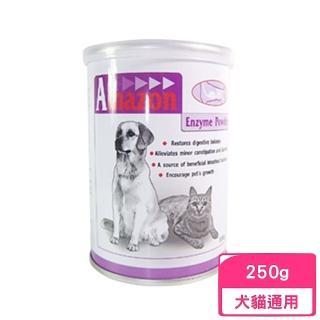 【愛美康Amazon】天然犬貓消化酵素粉250g》 一入組