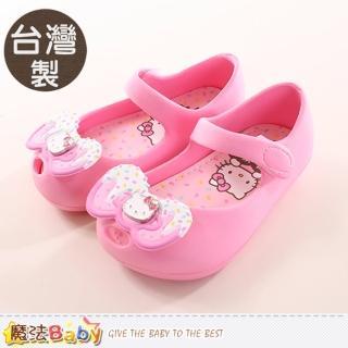【魔法Baby】14-20cm女童鞋 台灣製Hello Kitty正版輕量美型鞋(sh9903)