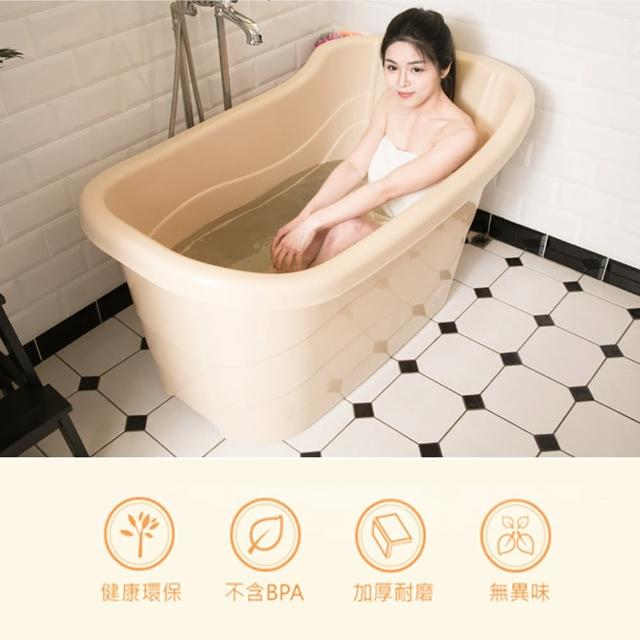 【生活King】四季風呂健康泡澡桶(291公升)