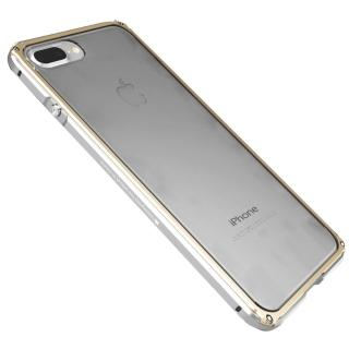 【GINMIC】iPhone 7 4.7 雙色傳奇系列金屬邊框加透明後背蓋保護殼