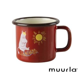 【芬蘭Muurla】司諾克鄉村復古風 -濃縮咖啡琺瑯杯-150cc(muurla moomin 嚕嚕米 琺瑯杯 咖啡杯)