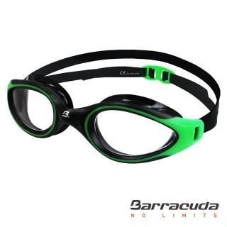 【美國巴洛酷達Barracuda】成人抗UV防霧泳鏡-AQUATEC-(#35125)