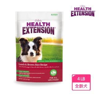 【Health Extension 綠野鮮食】天然成幼犬糧 羊肉+米 大顆粒 4LB(1LB*4包) 狗飼料 飼料(A001A161-2)