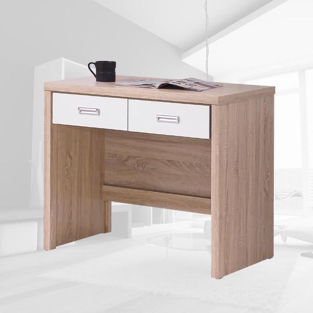 【樂和居】萊姆橡木白3尺書桌