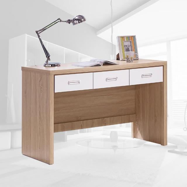 【樂和居】萊姆橡木白4尺書桌