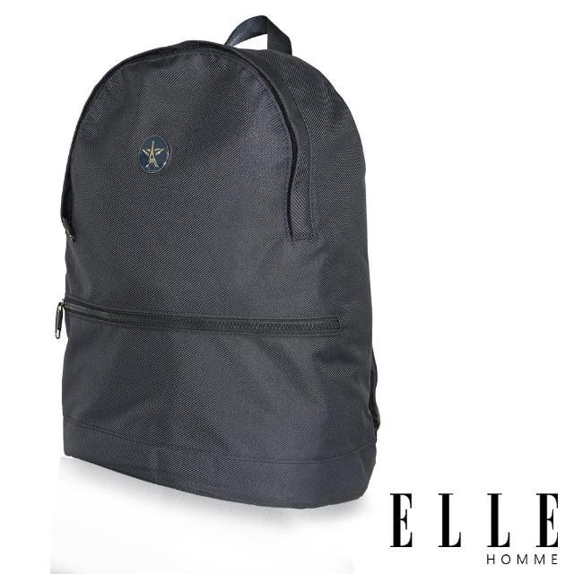 【ELLE HOMME】巴黎風輕旅商務休閒多功能後背包(藍 EL83897-08)