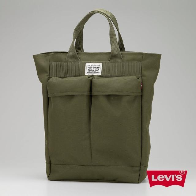 【Levis】男款後背包 / 手提 / 軍綠 / 軍風最新