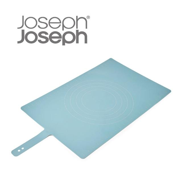 【Joseph Joseph 英國創意設計餐廚】好收納矽膠桿麵墊(藍)