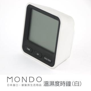 【必翔銀髮】MONDO溫濕度時鐘