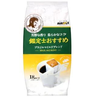【國太樓】鑑定士金選濾式咖啡-香醇(濾掛式18袋)