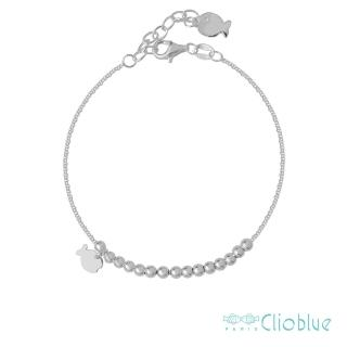 【Clio Blue】法國巴黎品牌/925純銀(珍珠小魚手鍊)