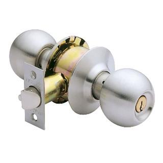 【加安牌】不鏽鋼房門鎖 C3600-60mm
