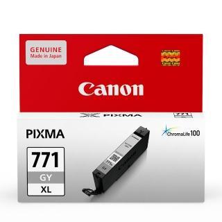 【CANON】CLI-771XL-GY 原廠灰色高容量墨水匣(速達)