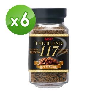 【UCC】117即溶咖啡6罐組(90g/罐)