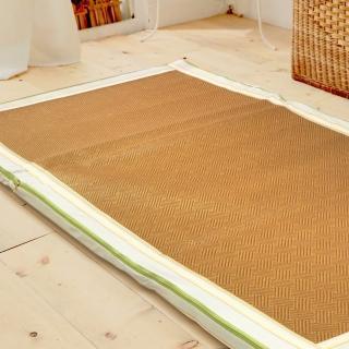 【McQueen 麥皇后】《卡蒂亞》亞藤透氣棉床墊(單人3尺)