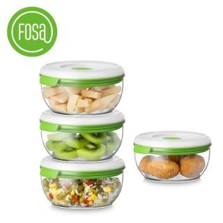 【FOSA真鮮寶】真空保鮮盒600ml-4入(HFA40600快速到貨)