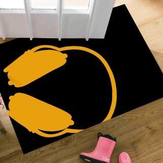 【范登伯格】大藝術家 耳機風地毯/踏墊(60x100cm)