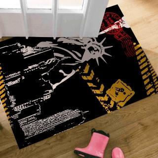 【范登伯格】大藝術家 自由女神地毯/踏墊(60x100cm)