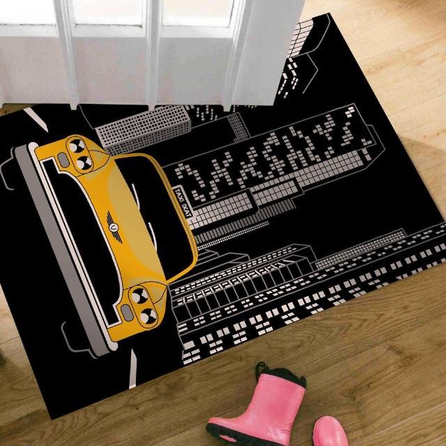【范登伯格】大藝術家 城市汽車地毯/踏墊(60x100cm)