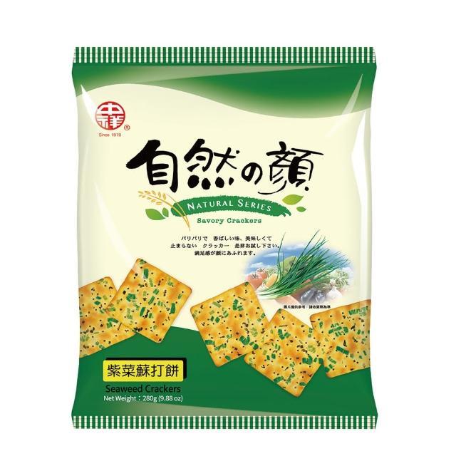 【中祥】自然之顏紫菜蘇打餅乾310g