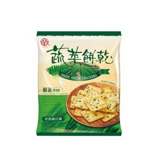 【中祥】自然之顏蔬菜蘇打餅乾360g/