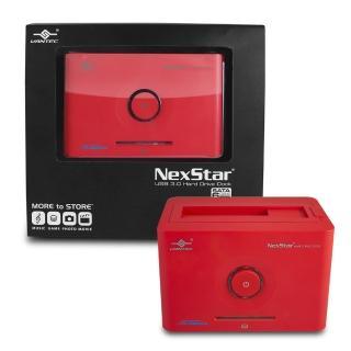 【凡達克超高速傳輸方塊】台灣製造2.5吋/3.5吋SATA I/II/III 硬碟至超高速USB3.0硬碟外接座(NST-D306S3-RD)