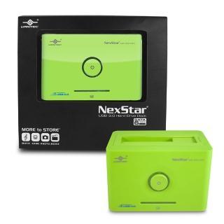 【凡達克超高速傳輸方塊】台灣製造2.5吋/3.5吋SATA I/II/III 硬碟至超高速USB3.0硬碟外接座(NST-D306S3-GR)