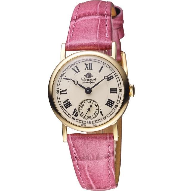 【Rosemont】戀舊系列 經典復刻時尚腕錶(TN008 YWR-EMG)