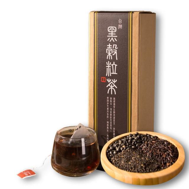 【源順】台灣黑穀粒茶16包/盒x3(黑豆茶)
