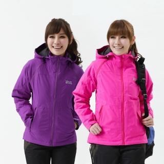 【遊遍天下】Globetex女款JIS90%羽絨背心外套兩穿防風防水機能羽絨外套-2色(S-3L)