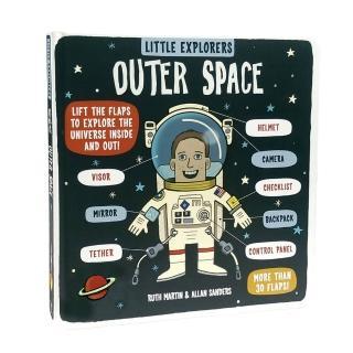 【世一】Little Explorers:Outer Space(原文翻翻書)