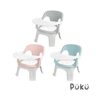 【PUKU藍色企鵝】Crocodile小鱷魚餐盤BB椅(紅色)