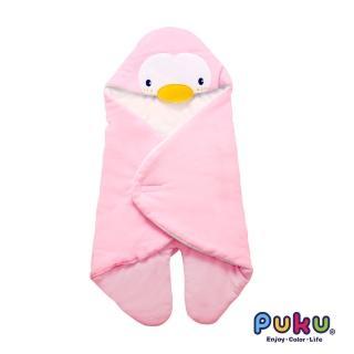【PUKU藍色企鵝】秋冬造型包巾尺寸F(粉色)