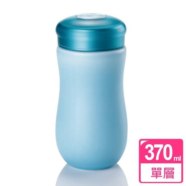 【乾唐軒活瓷】甜心隨身杯 / 淺水藍 / 中 / 單層