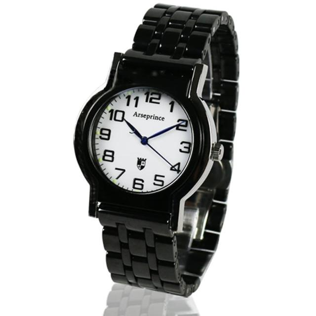 【Arseprince】Y世極簡時尚中性錶(黑色)