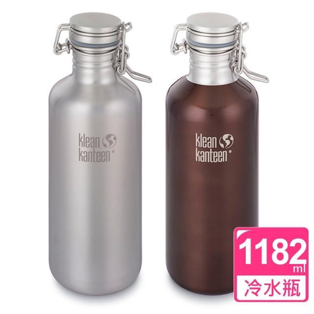 【美國Klean Kanteen】快扣不鏽鋼冷水瓶(1182ml)