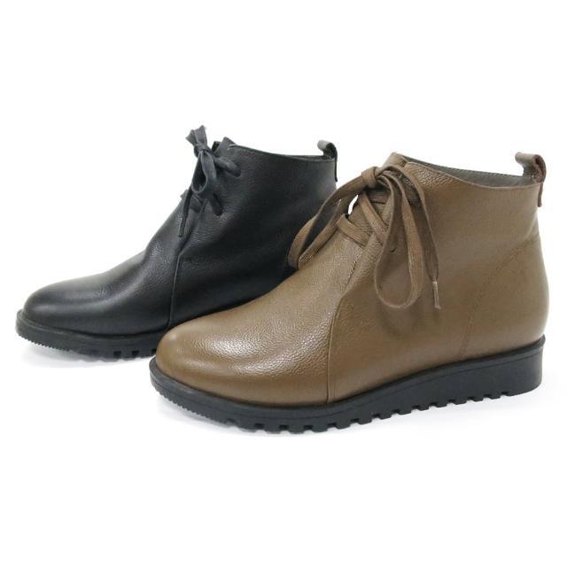 皮尔卡登极致柔软牛皮增高靴(S)(20)