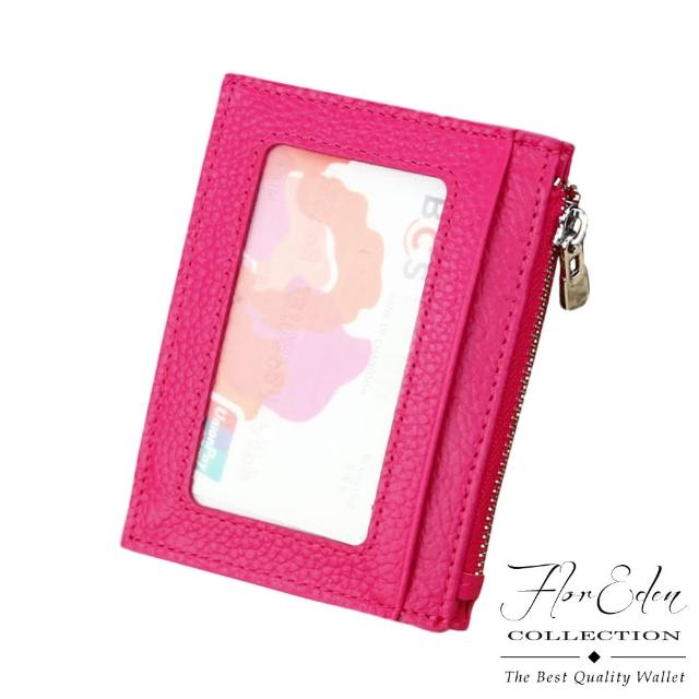 【DF Flor Eden皮夾】多合一牛皮款悠遊卡多卡夾零錢包(共3色)