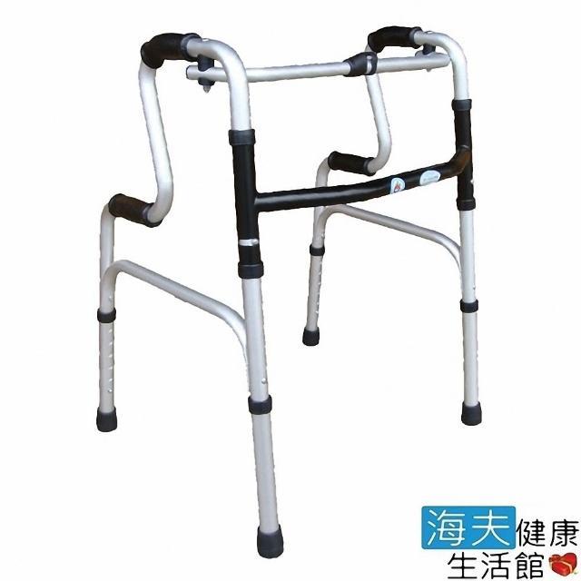 【海夫健康生活館】杏華 1吋固定式 一般R型 助行器