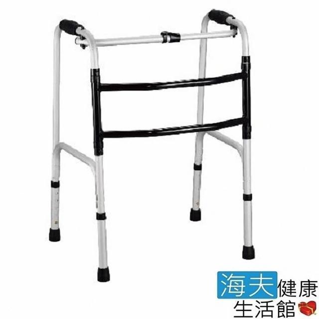 【海夫健康生活館】杏華 1吋左右搖擺型 日式強化 助行器