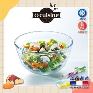 【法國 O cuisine】百年工藝耐熱玻璃調理盆(16CM)
