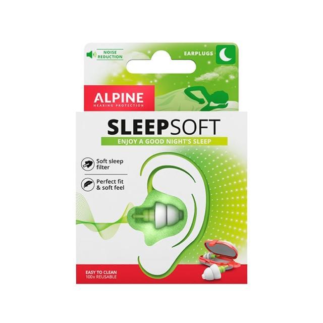 【Alpine】荷蘭原裝進口 Sleepsoft + 頂級舒適睡眠耳塞