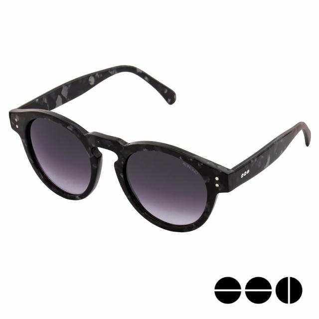 【KOMONO】CRAFTED工藝款手工太陽眼鏡 Clement(黑色大理石)