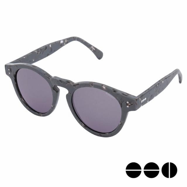 【KOMONO】CRAFTED工藝款手工太陽眼鏡 Clement(灰色鑽石)